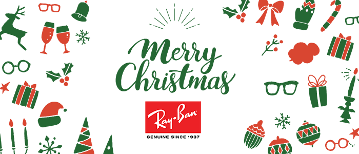 正視堂おすすめのクリスマスプレゼントはレイバン!